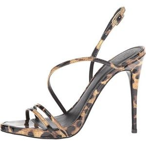 Guess Shoes - Guess NWOT Tilda strappy cheetah heels size 7